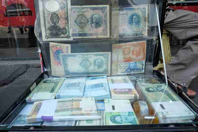 Iran's rial hits new low against dollar as economy reels