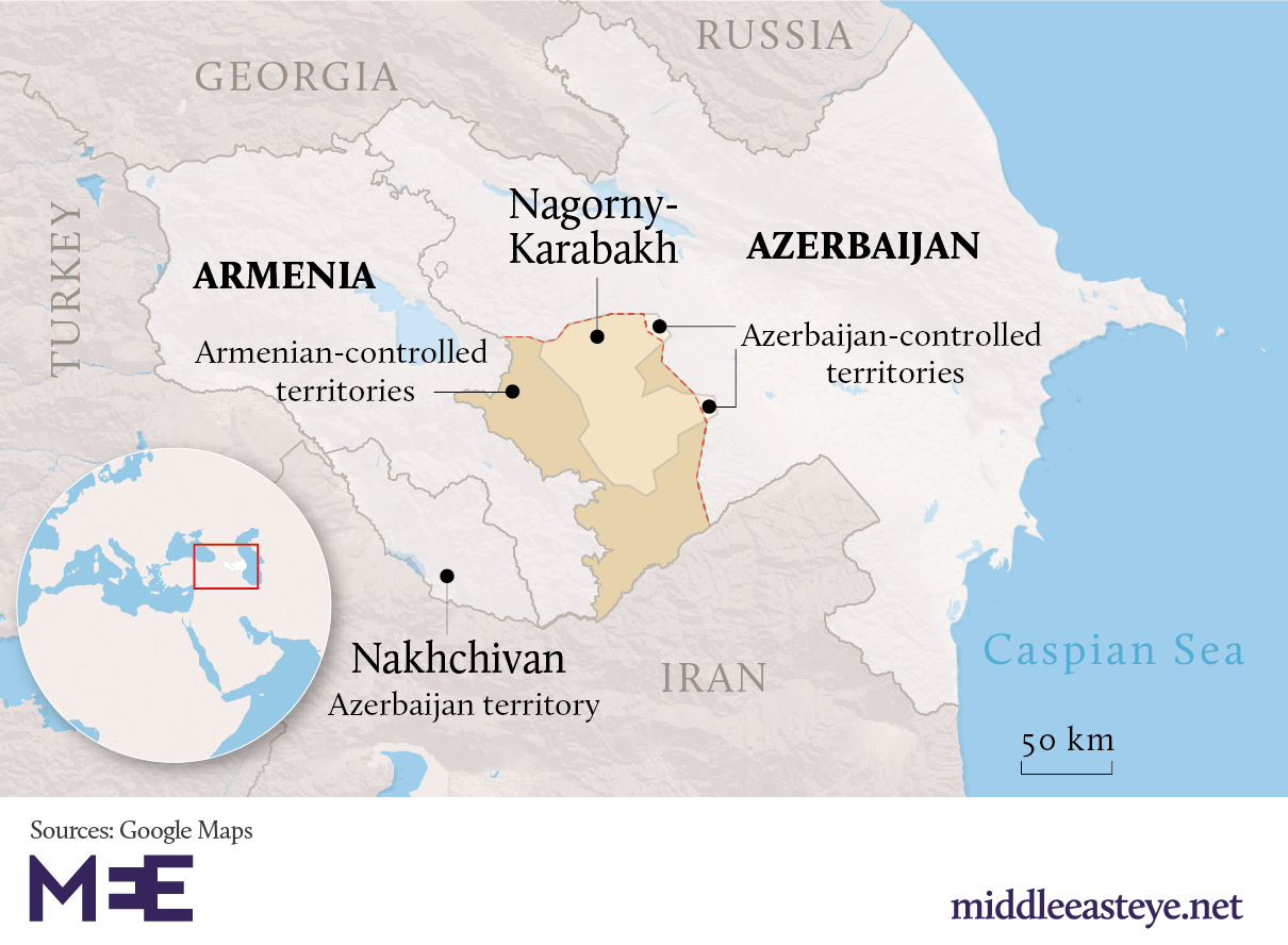 Ongoing Nagorno-Karabakh Conflict: Paradoxes of Iran Policy